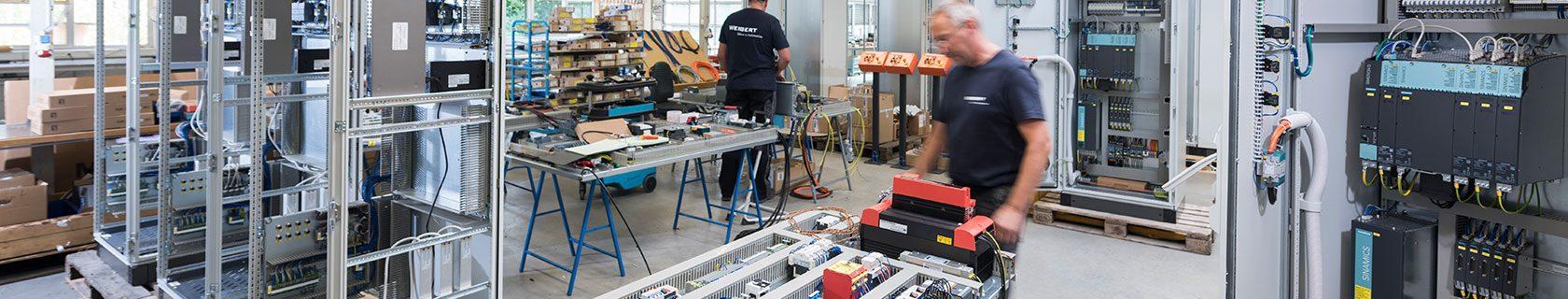 Mitarbeiter für den Schaltanlagenbau gesucht – Weigert Elektronik