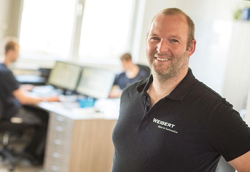 Technischer Leiter Bernd Röbke-Lange